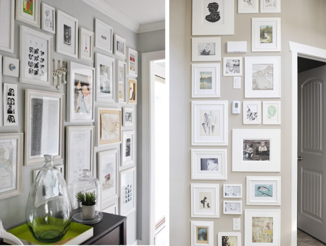 mur de photos sans cadre tuto d co r alisez un mur de. Black Bedroom Furniture Sets. Home Design Ideas