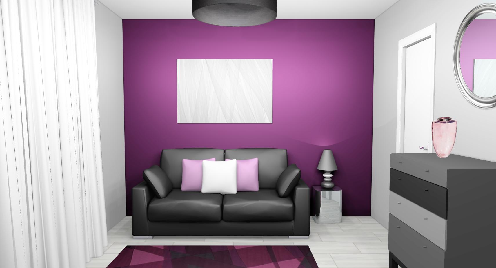 image-décoration-chambre-violet-et-gris