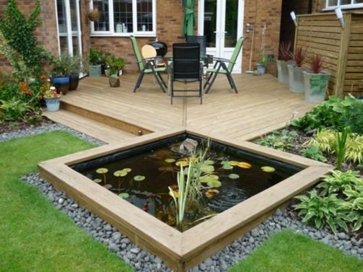 8 astuces pour am nager un bassin d eau dans le jardin - Compagnie des produits pour le jardin ...