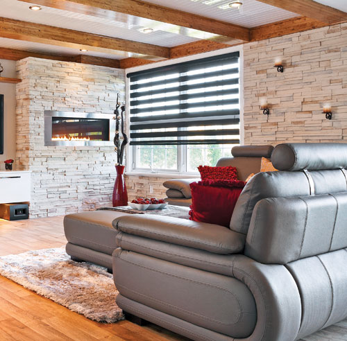 12 id es pour habiller avec brio les fen tres. Black Bedroom Furniture Sets. Home Design Ideas