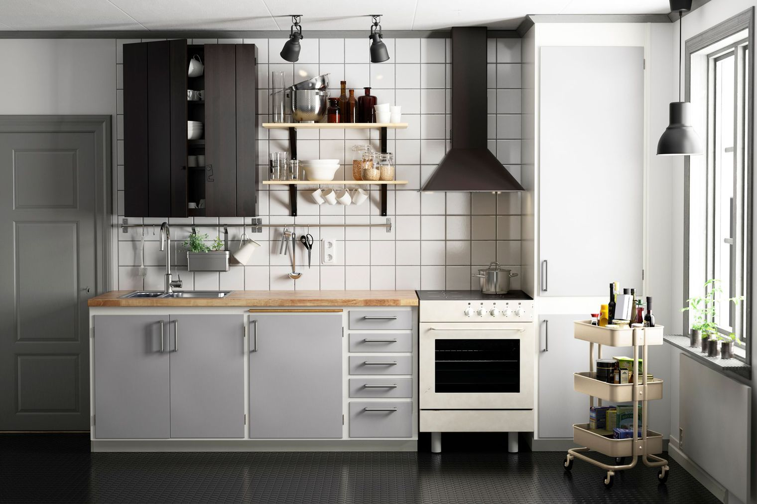 10 meilleures astuces gain de place pour une petite cuisine - Ikea petite cuisine ...