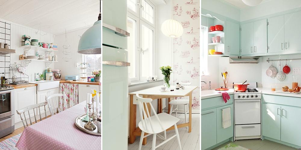 6 erreurs viter pour une cuisine couleur pastel for Quelle couleur mettre dans une cuisine