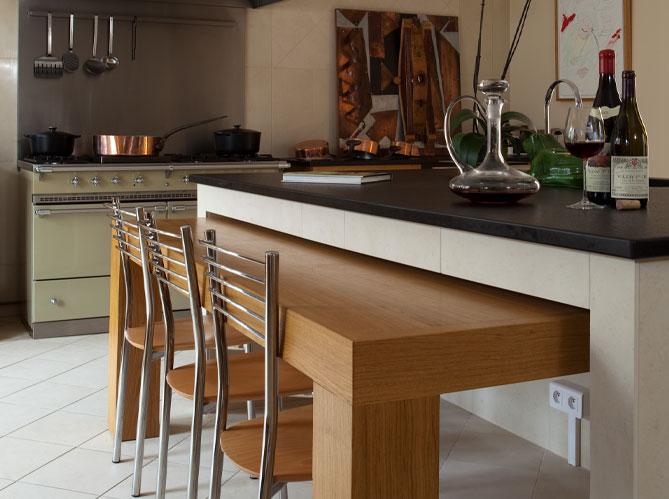 10 meilleures astuces gain de place pour une petite cuisine for Cuisine table escamotable