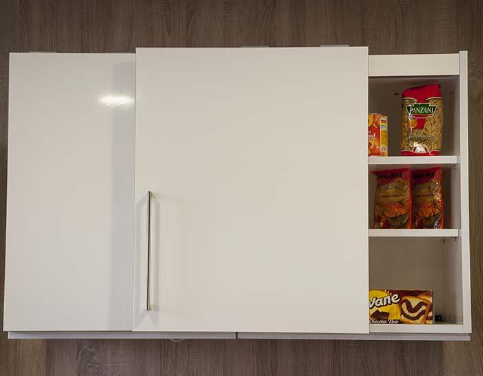 10 meilleures astuces gain de place pour une petite cuisine for Portes pour meubles de cuisine