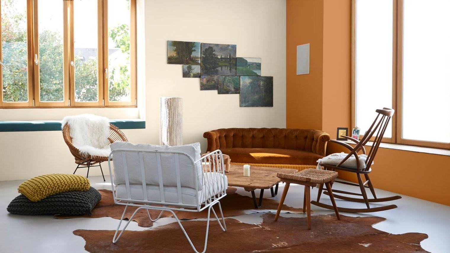 12 id es pour sublimer votre int rieur avec de la peinture. Black Bedroom Furniture Sets. Home Design Ideas
