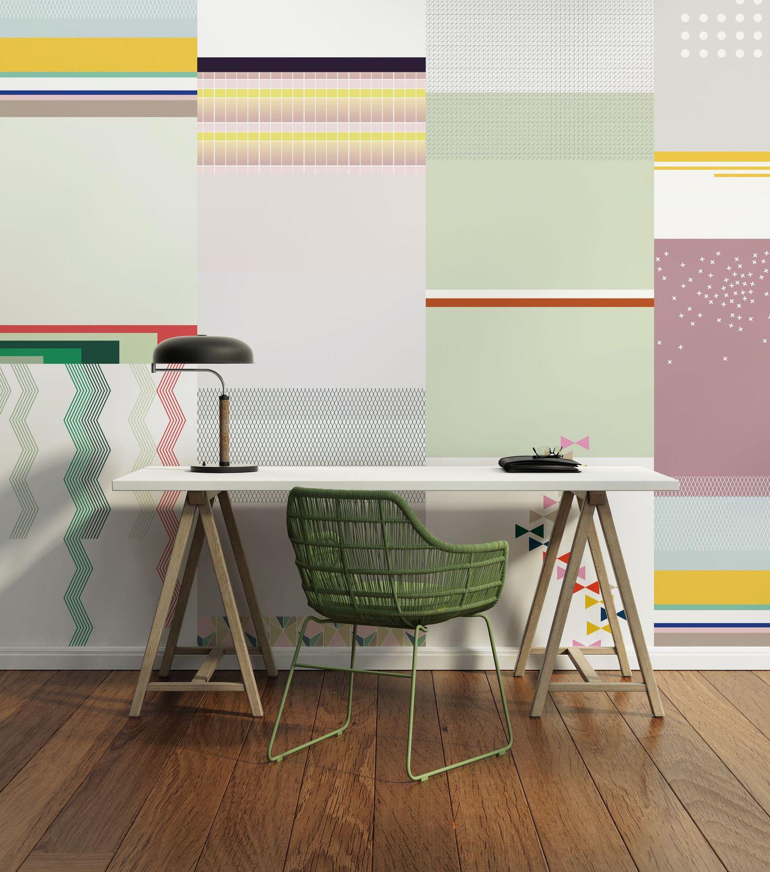 12 mod les de papier peint qui changeront radicalement for Modele de papier peint