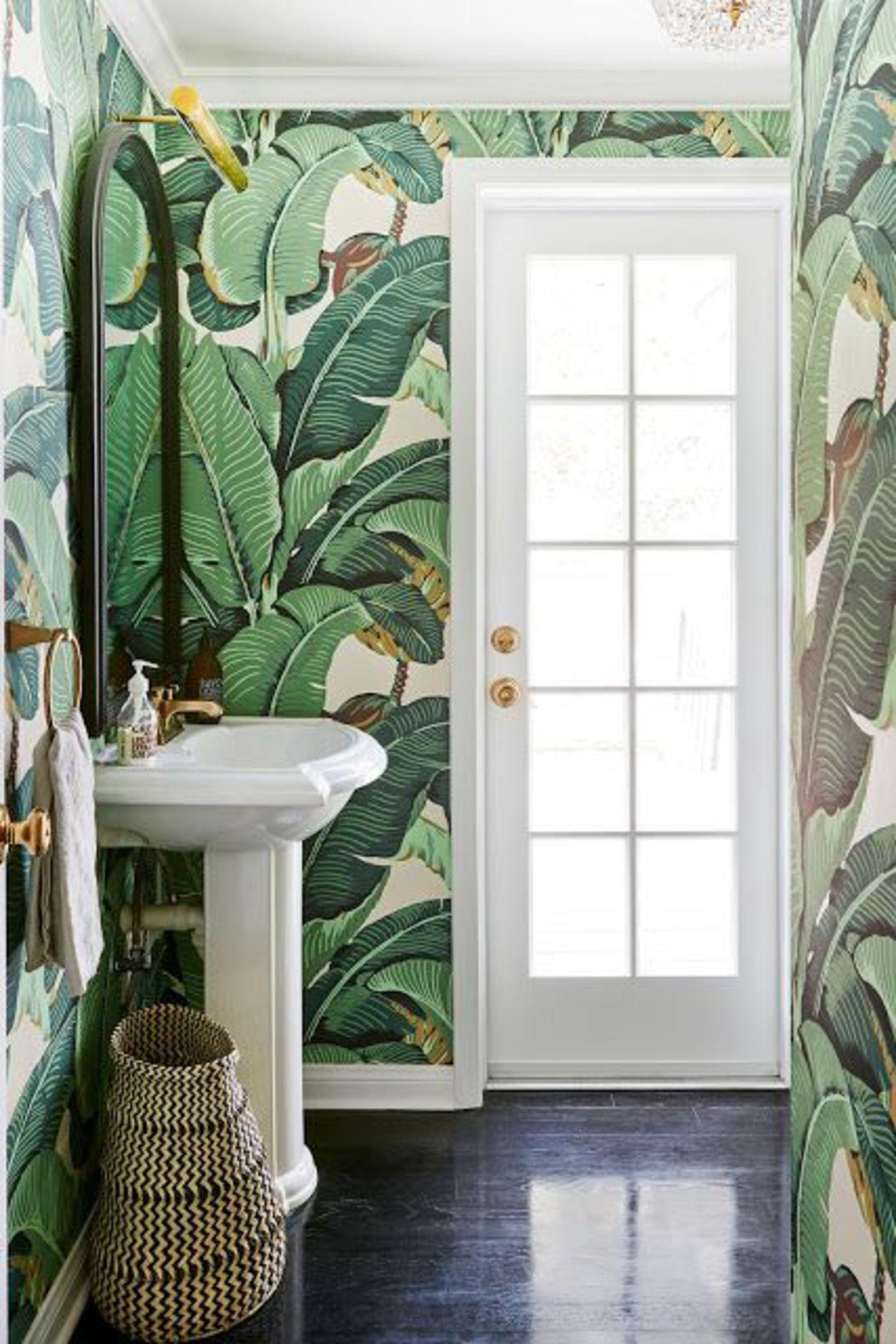 Carrelage Salle De Bain Jungle ~ 10 rev tements muraux qui dynamisent la salle de bain