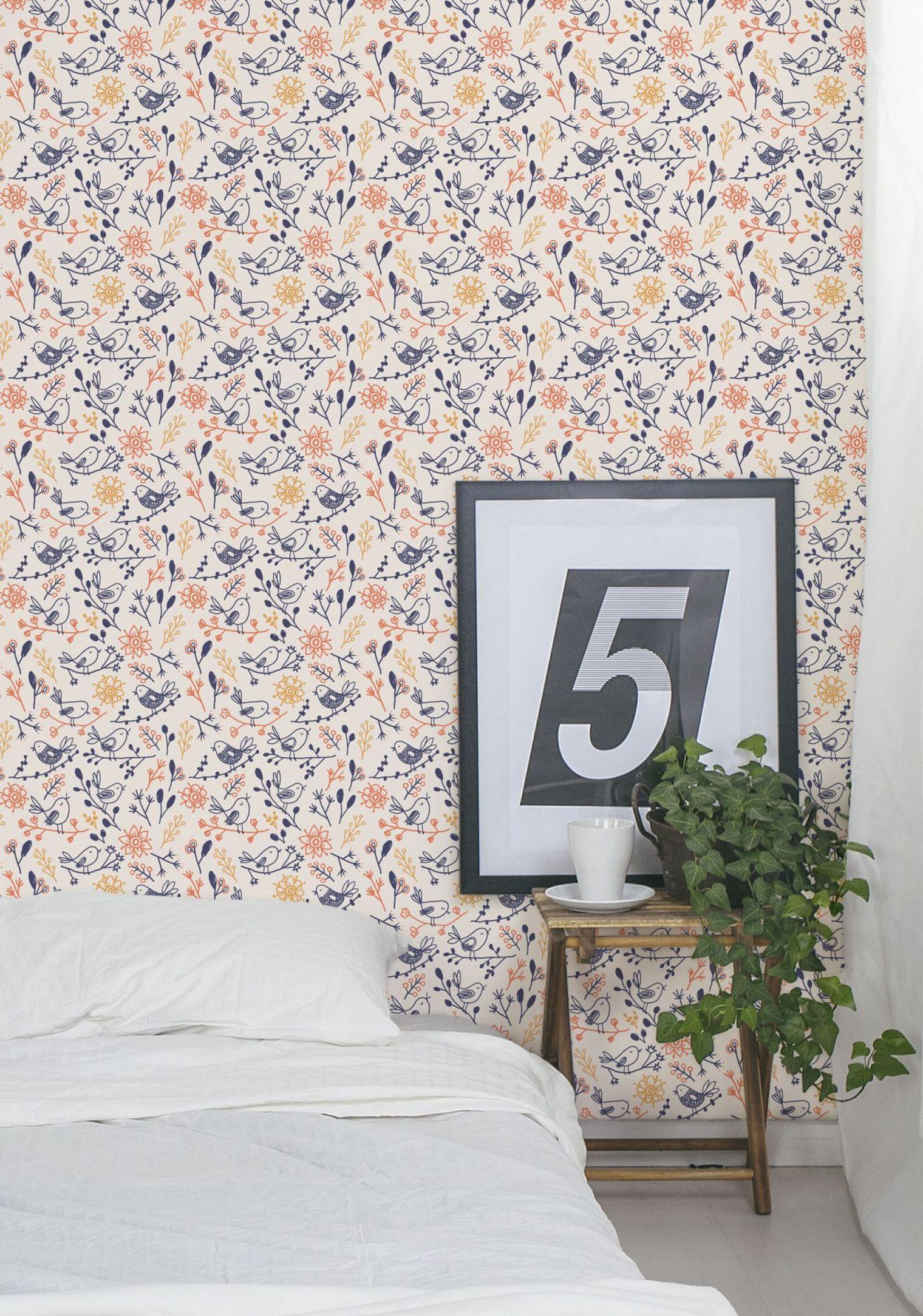 Modèles De Papier Peint Qui Changeront Radicalement Votre Déco - Papier peint romantique chambre