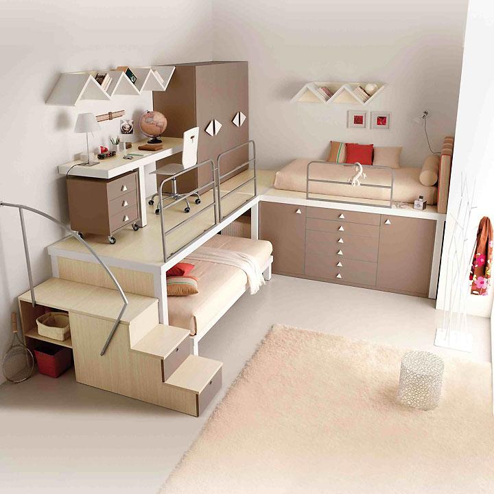 Conseils Pour Bien Ranger La Chambre Denfant - La facon de concevoir une petite chambre pour un adolescent