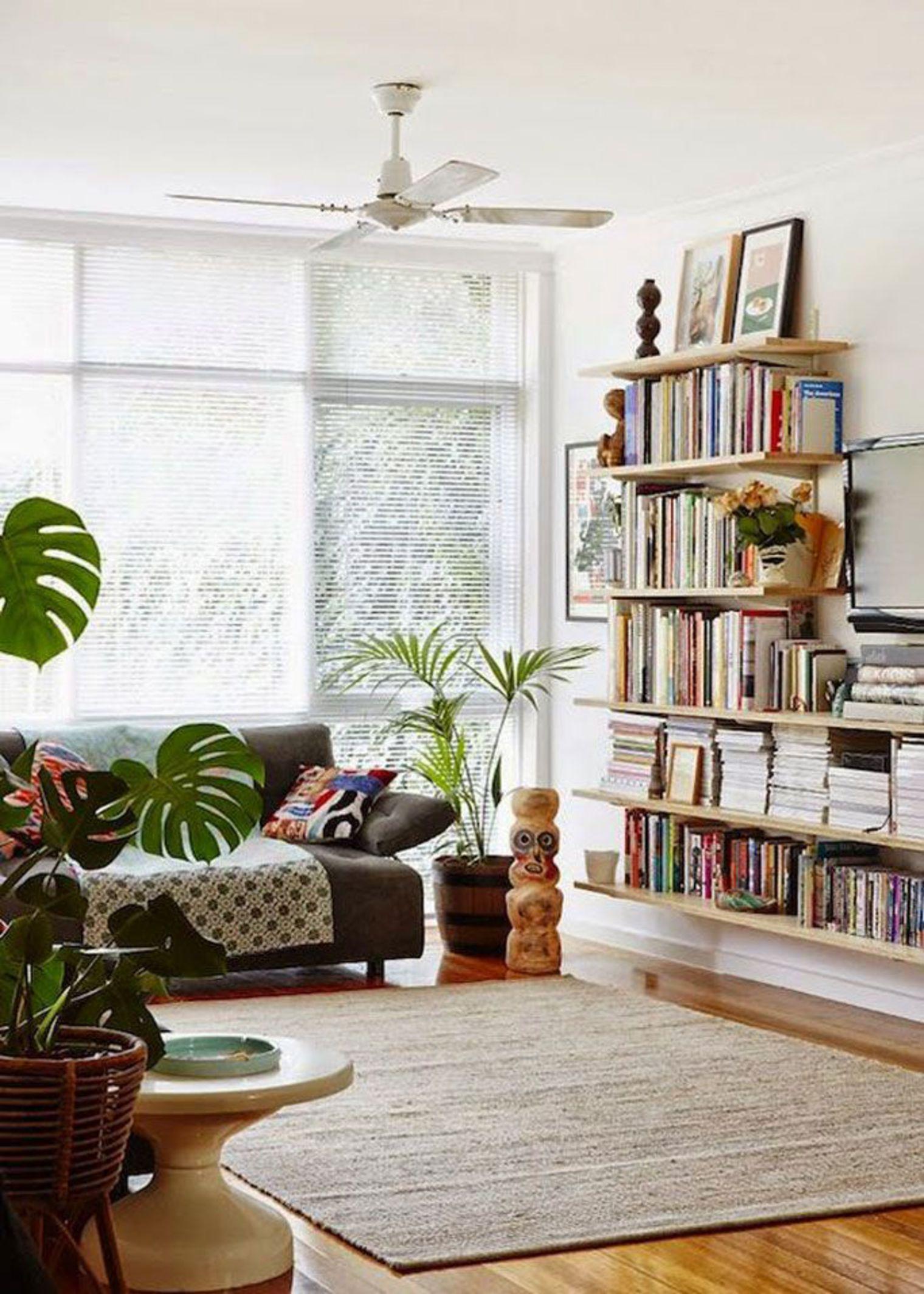 10 astuces pour cr er un joli coin lecture dans le salon for Idee living