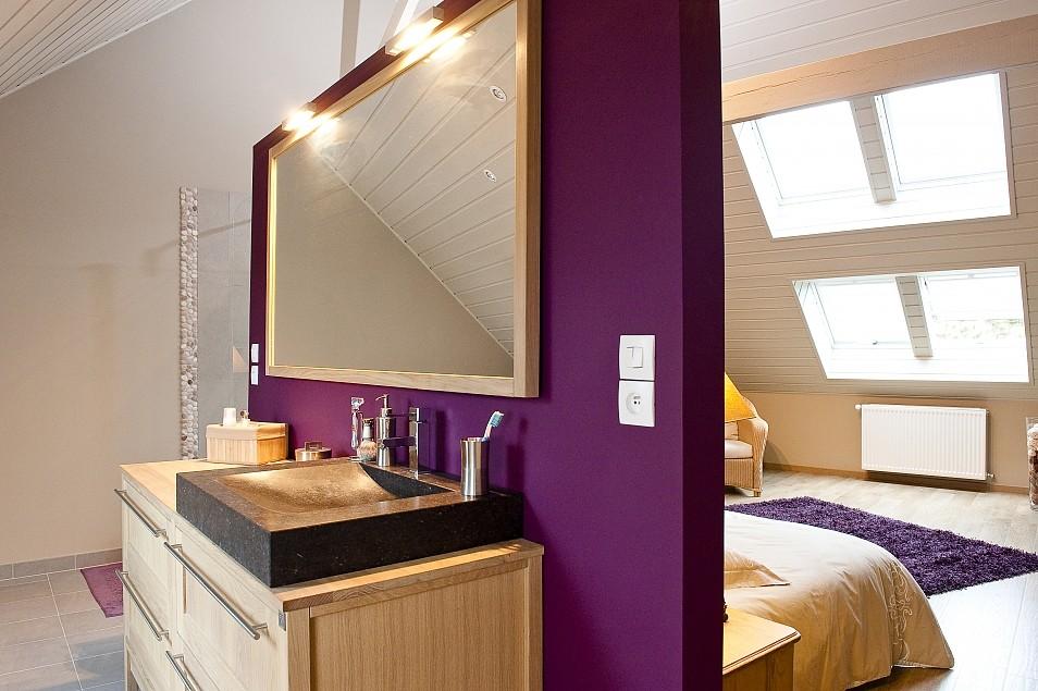 Stunning salle de bain dans chambre sous comble photos lalawgroup