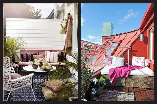 9 Idées Pour Bien Aménager Un Petit Balcon