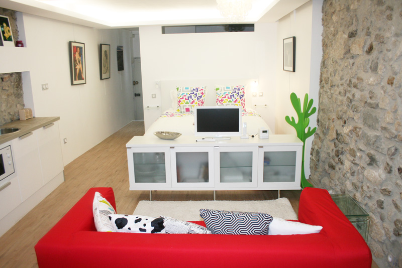 10 mani res de personnaliser un studio meubl. Black Bedroom Furniture Sets. Home Design Ideas