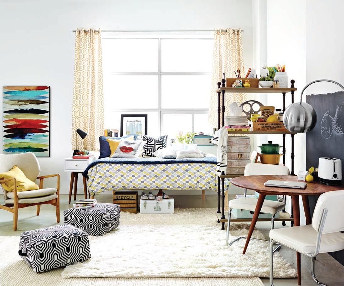 10 conseils pour l am nagement d un appartement d tudiant. Black Bedroom Furniture Sets. Home Design Ideas