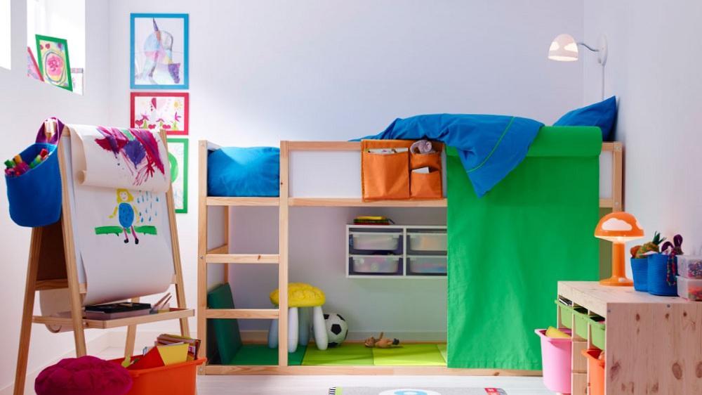 10 Conseils Malins Pour Aménager L Espace Sous Le Lit Mezzanine