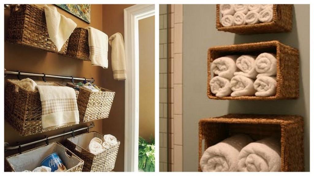 18 id es astucieuses pour pr senter les serviettes dans la. Black Bedroom Furniture Sets. Home Design Ideas